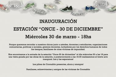 Estación ONCE - 30 de diciembre
